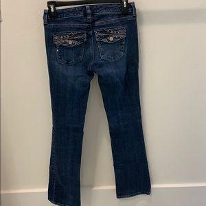White House Black Market Women's blanc boot Jeans